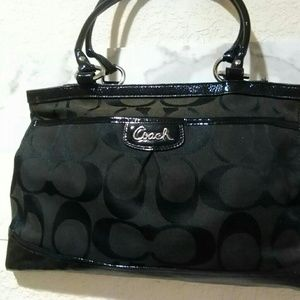 Coach F18725 Handbag Black